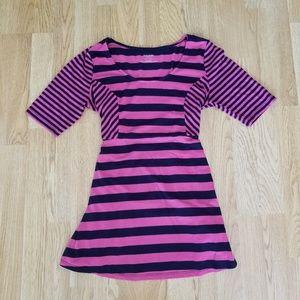 Motherhood Maternity Stripe Tie Dress